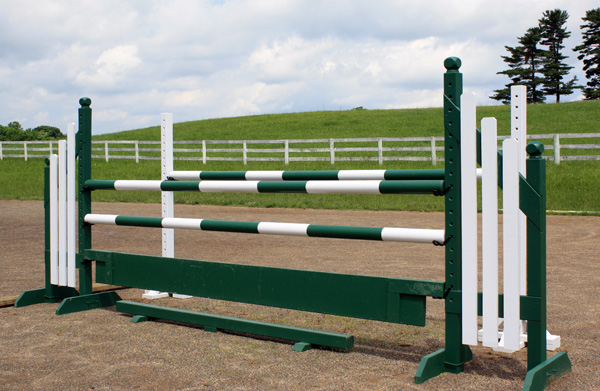 horse jump with standards