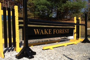 Wake Forest | Horse Jumps