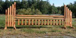 horse jump gate