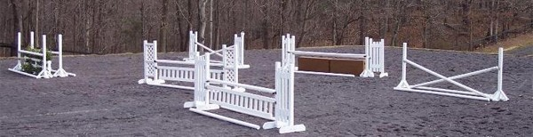 intermediate horse jump package