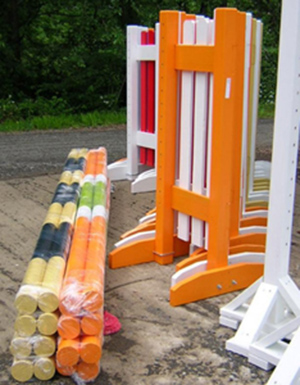 horse jump standards and poles