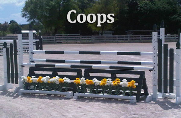 horse jump coops