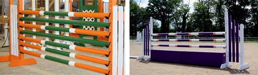 horse jump poles
