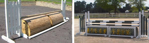 horse jump roll tops