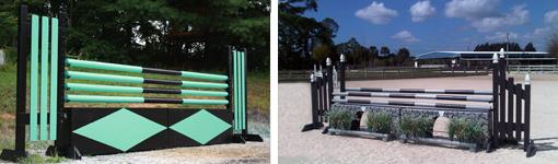 horse jump walls