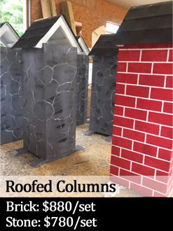 roofed columns