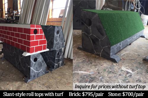 slant style roll tops