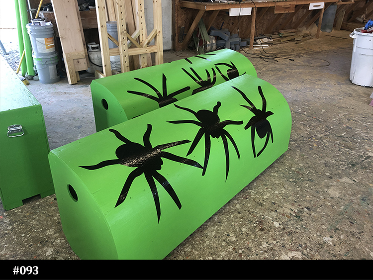 spider horse jump rolltop