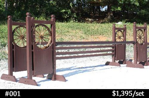 wagon wheel horse jump