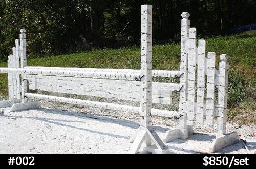 birch-look horse jump