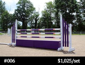 purple horse jump