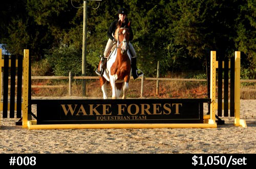 Wake Forest horse jump