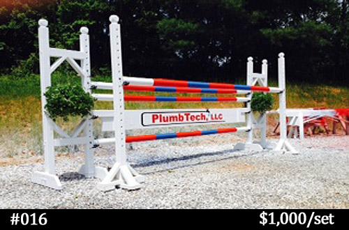 PlumbTech horse jump