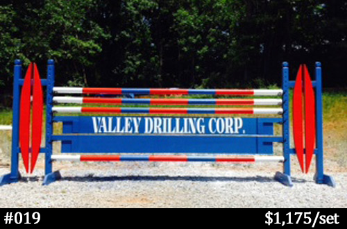 Valley Drilling horse jump