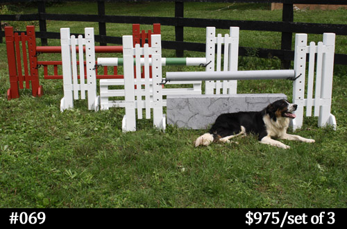 Custom Horse Jump Planks