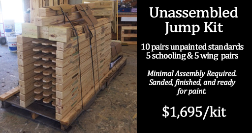 unassembled jump kit on pallet