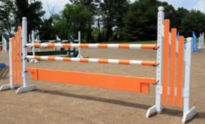 wing standard horse jump